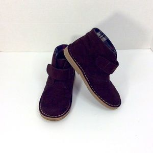 Boys COLE HAAN Suede Brown Boots 10